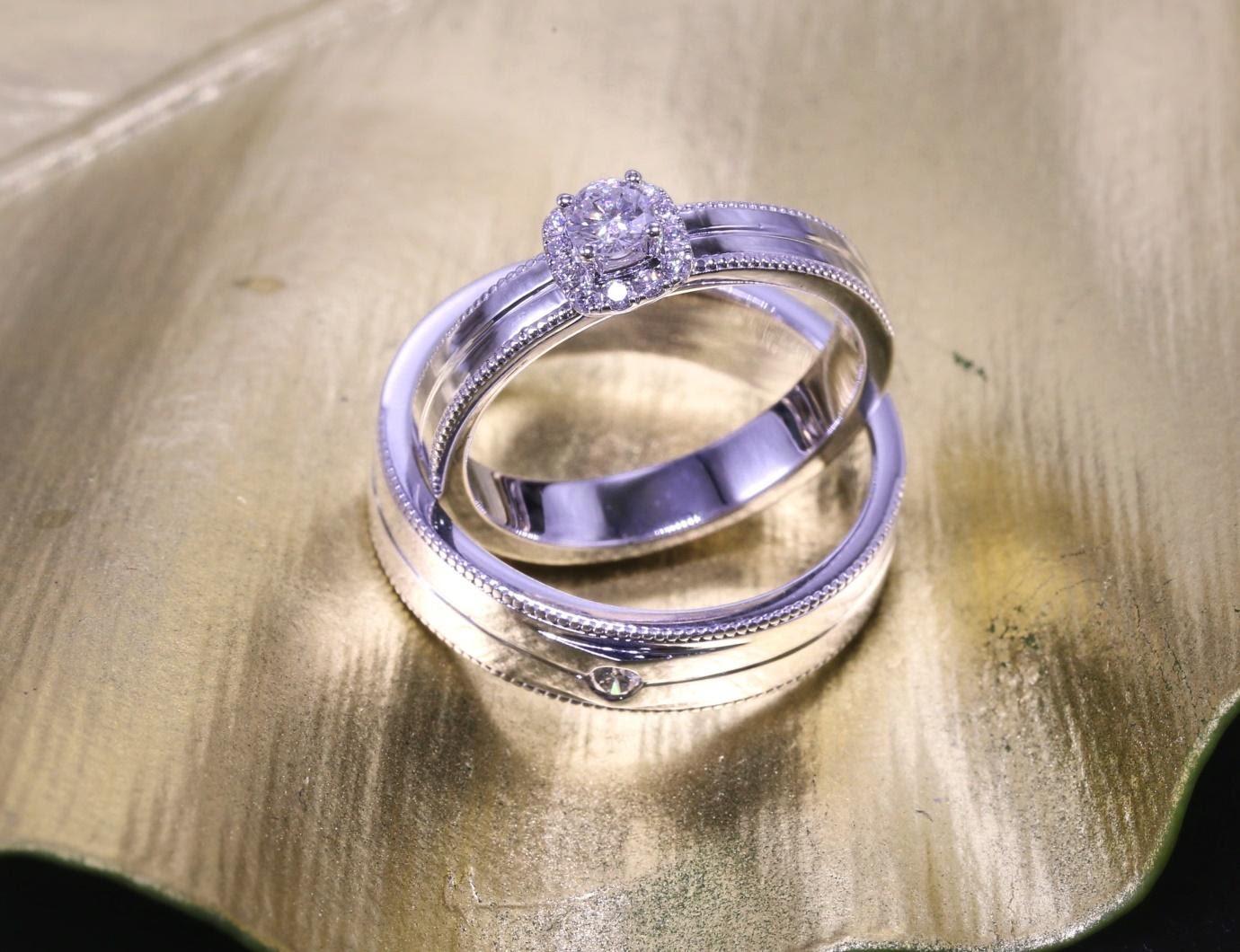 Những mẫu nhẫn cưới kim cương sang trọng, đẹp mê ly trong mùa cưới từ Hoàng Thứ Jewelry